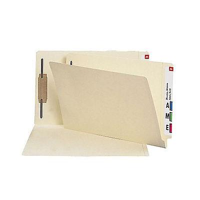 Manila End-tab Fastener Folders With Reinforced Tab Legal 50box 18359
