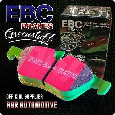 EBC GREENSTUFF REAR PADS DP21497 FOR SEAT ALTEA/ALTEA XL 1.4 2006-
