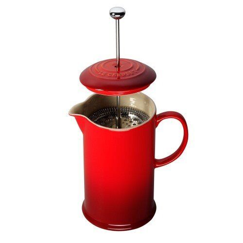 Cafetiere - Le Creuset - Red - with original box