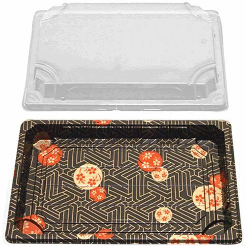 Sushi Container w/Lid (9x6x0.67) (400 Sets)