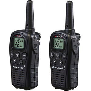 Midland LXT500VP3 FRS/GMRS Two-Way Radio 24 Mile Range LXT 500 Walkie Talkie