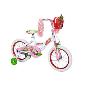 Huffy-16-inch-Bike-Girls-Strawberry-Shortcake