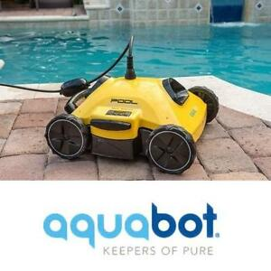 NEW AQUABOT POOL ROVER CLEANER - 115101309 - ROBOTIC CLEANERS ABOVE INGROUND POOLS ACCESSORIES TOOL TOOLS AUTOMATIC R...