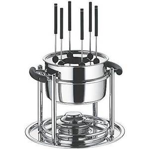 Wmf Allegro Fondue Set, Stainless Steel, Silver, 11-Piece Jimboomba Logan Area Preview