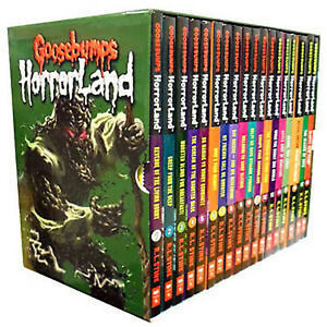 Goosebumps Horrorland Collection R L Stine 18 Books Set HorrorLand Series