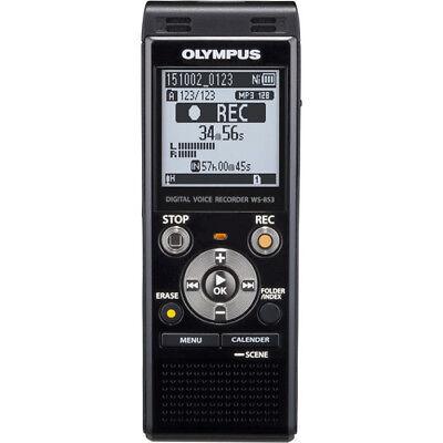 BRAND NEW Olympus WS-853 Digital Voice Recorder (Black) BRAND NEW