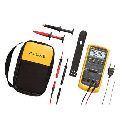 Fluke 87-5e2 Kit True-rms Industrial Digital Multimeter Accessories