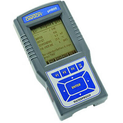 Oakton Wd-35418-00 Ph 600 Ph Mv Temperature Meter With Ph Electrode