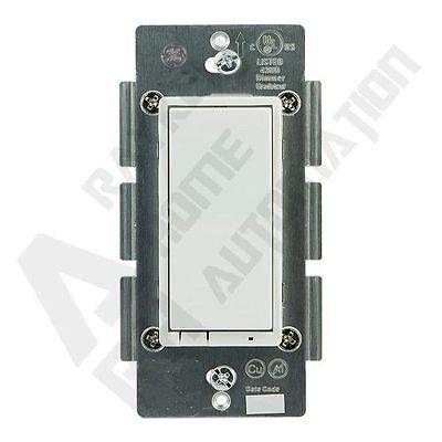GE 12722 (ZW4005) Z-Wave ON/OFF Rocker Switch, White/Light Almond ~ Jasco 45709