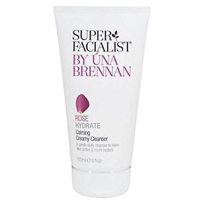 New Super Facialist by Una Brennan Rose Hydrate Calming Creamy Cleanser 5 fl oz (Super Facialist By Una Brennan Rose Hydrate)