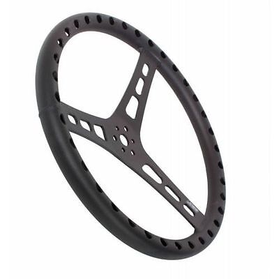 QuickCar Racing Products 68-001 Mount Racing Steering Wheel with Black Rubber Grip