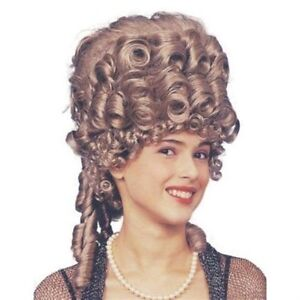 Baroque-Georgian-Dame-MaskedBall-Ringlet-Empress-Wig-Fancy-Dress-NEW-P2134