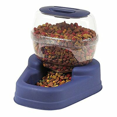 Automatic Dog Cat Feeders Storage Dispenser ฺBowl Container Dry Food 6 Pound