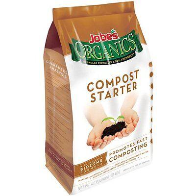 Jobe's 09926 Organic Compost Starter 4-Pound Bag ...