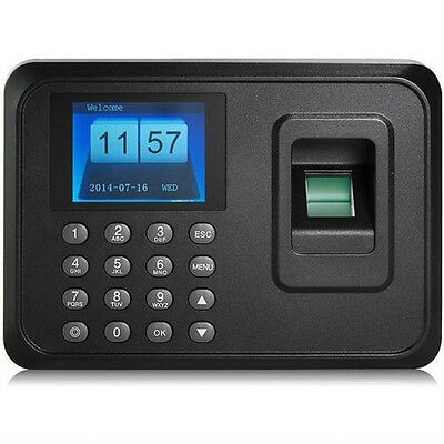 Usb Tcpip Password Fingerprint Time Recorder Clock Attendance Employee Salary