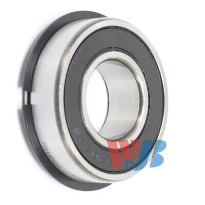 Ball Bearing Wjb 6203-2rsnr-12 2 Rubber Seals 34 Bore Snap Ring 19.0x40x12mm