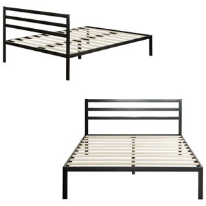 Zinus 1500H Contemporary Platform Bed with Headboard - King