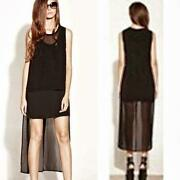 Womens High Low Dress