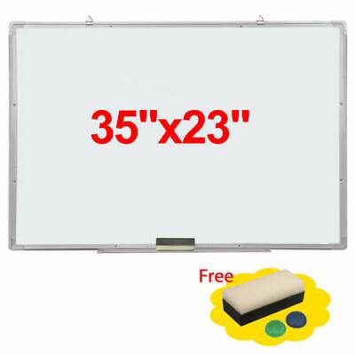 Flash Magnetic Whiteboard 35x23dry Erase Drawing Board Office Eraser Marker Pen