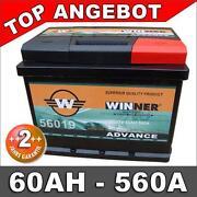 Autobatterie 55Ah