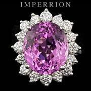 Pink Diamond Ring White Gold