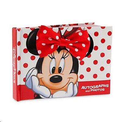 (Disney World/Disneyland Minnie Mouse Autograph Book & Photo Album, NEW)