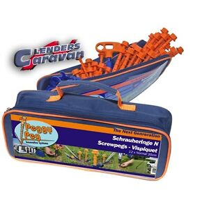 Zeltheringe Schraubheringe -  Starter Kit **Peggy Peg**
