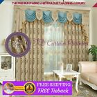 Attached Valances Window Curtains
