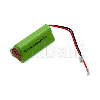 Rechargeable Battery Ni-MH AAA with Cable 2 Pin 3.6V 1000mAh for sale  Shipping to India