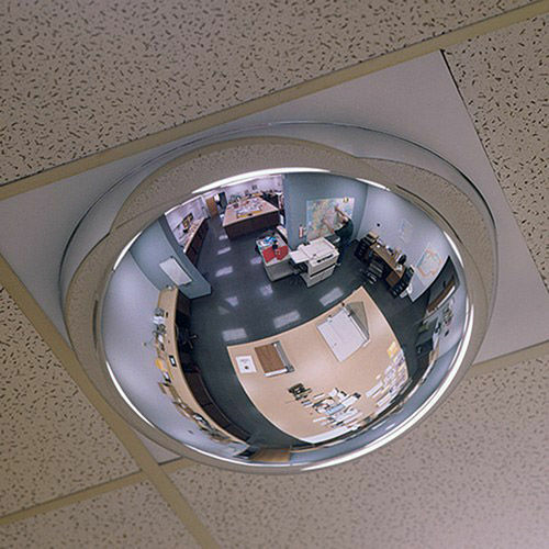 """SEE ALL Drop-In Dome Mirror - 24x48"""""""