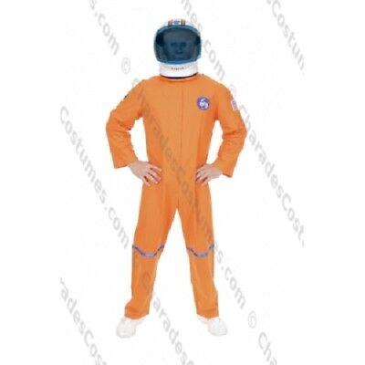Astronaut Jumpsuit (Astronaut Costume NASA ORANGE Jumpsuit Adult XL X1 48-52 Space Halloween)