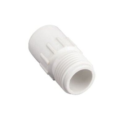 Orbit 10 Pack 1/2 Inch Slip x 3/4 Inch MHT PVC Hose-to-Pipe Adapter