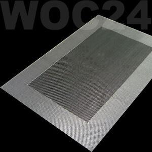platzdeckchen silber gedeckter tisch ebay. Black Bedroom Furniture Sets. Home Design Ideas