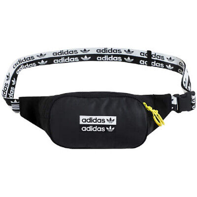 adidas Originals R.Y.V. Waist Bag Belt Pack Cross Body Casual Bag Black FM1296