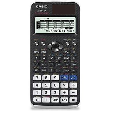 "Casio Classwiz Fx-991ex Scientific Calculator - Solar, Battery Powered - 3"" X"