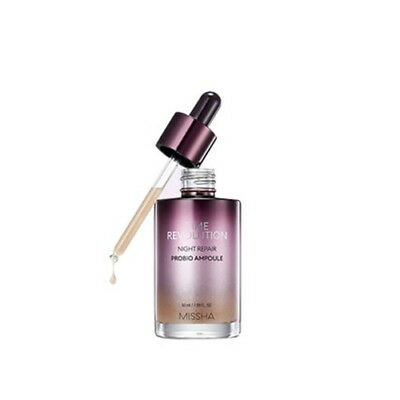 [MISSHA] Time Revolution Night Repair Probio Ampoule (2019 Renewal) 50ml