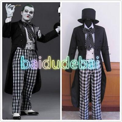 Batman Joker Jack Nicholson Halloween Cosplay Costume Custom Made