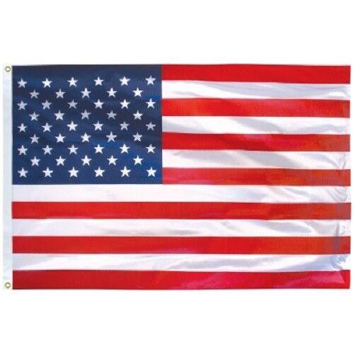 USA Flag Outdoor Mega-Tuff 4' x 6' 5' x 8' Eder Flag Printed