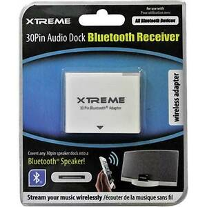 BN: Xtreme Cables 30-pin Audio Dock Bluetooth Receiver