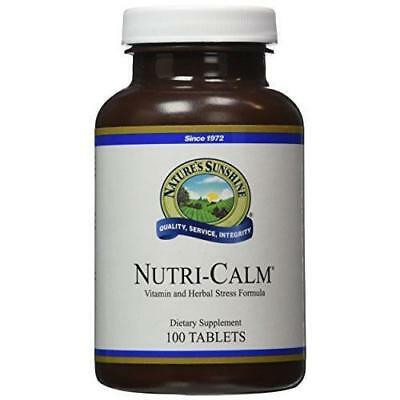 Natures Sunshine Nutri Calm 100 Tablets