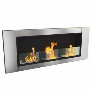 Wall mounted bio fuel flame heater Castle Hill The Hills District Preview