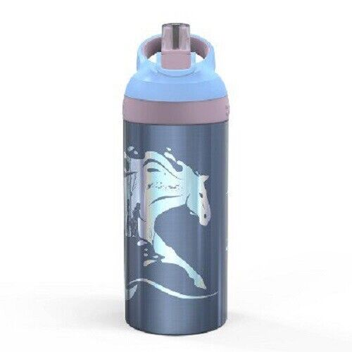 Frozen 2 19.5oz Stainless Steel Nokk Water Bottle Blue – Zak Designs Home & Garden