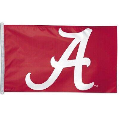 ALABAMA CRIMSON TIDE 3'X5' HOUSE FLAG OR WALL BANNER NCAA LICENSED USA SELLER ()