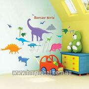 Dinosaur Removable Wall Stickers