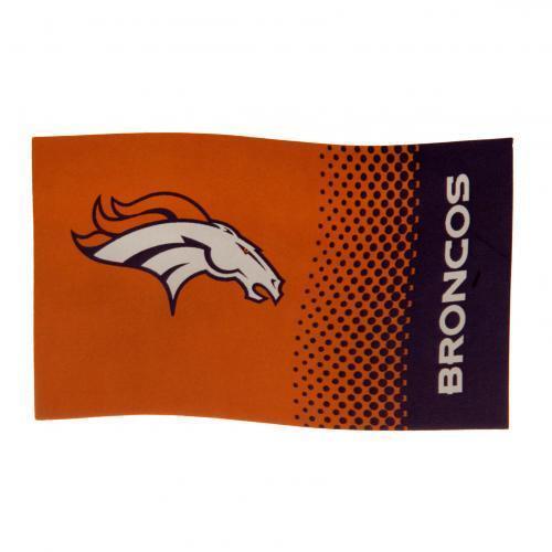 Denver Broncos Large Supporters Flag 5ftx3ft 5x3' FD
