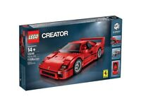 LEGO 10248 FERRARI OFFICIALLY LICENCED PRODUCT BRAND NEW AND RETIRED NO LONGER AVAILABLE