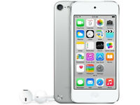 Apple iPod Touch 5th Generation White/Silver - Great condition - brand new Earbuds!
