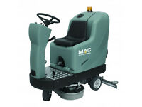 New MAC International Floormaster SD700R Ride On Battery Powered Industrial Scrubber Dryer
