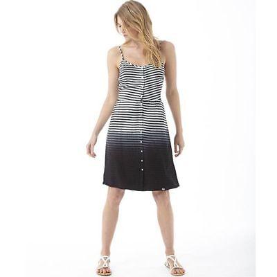 Superdry Prairie Girl Dip Dress, Navy Stripe, UK 8 XS, BNWT