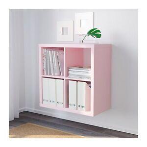 Iso pink kallax cube shelf